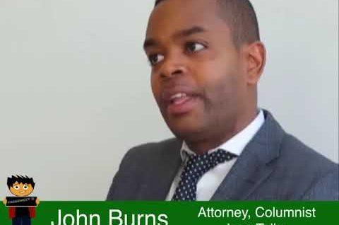 John Burns – attorney, columnist and creator of Icon Talks