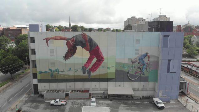 Billboard on Building
