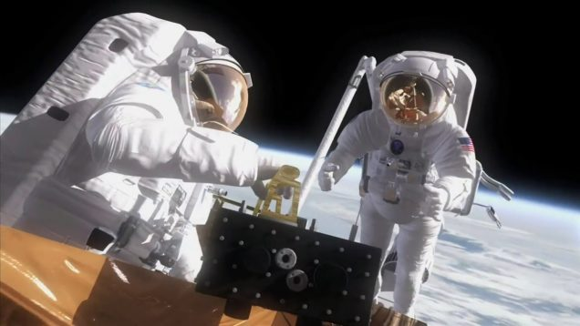 CGI Animation of Astronauts in Space