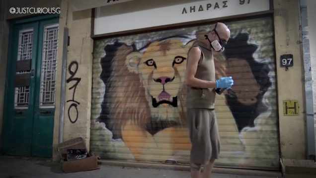 Lion King Graffiti Artist